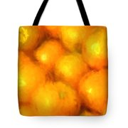 Abstracted Oranges Tote Bag