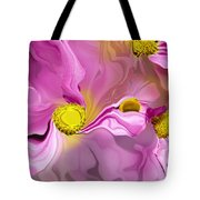Abstracted Pink Tote Bag