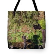 Abstracted Reflection Tote Bag