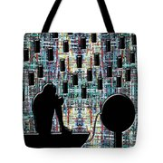 Abstraction 104 Tote Bag by Patrick J Murphy