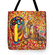 Abstraction 445 - Marucii Tote Bag