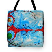 Abstraction 61 Tote Bag