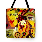 Abstraction 673 - Marucii Tote Bag