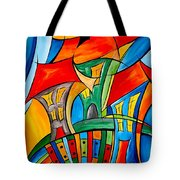 Abstraction 756 - Marucii Tote Bag