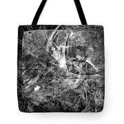 Abstraction B-w 0504 - Marucii Tote Bag