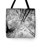 Abstraction B-w 0548 - Marucii Tote Bag