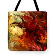 Abstraction Surrealist By Rafi Talby Tote Bag
