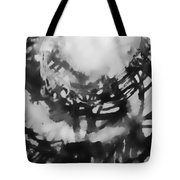 Abstraction Under Microscope Tote Bag