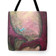Abstracty Crows Feet Crop Tote Bag