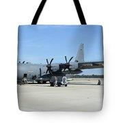 Ac-130j Ghostrider At Hurlburt Field Tote Bag