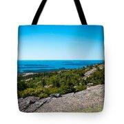 Acadia Blue Tote Bag