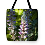 Acanthus Flower Tote Bag