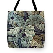 Acanthus Leaf Design Tote Bag by William Morris