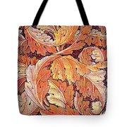 Acanthus Vine Design Tote Bag