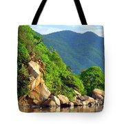 Acapulco Lagoon Tote Bag