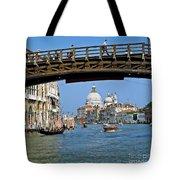 Accademia Bridge In Venice Italy Tote Bag