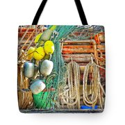 Accessories To Shrimp Catching Tote Bag