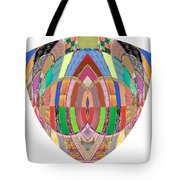 Accidental Art Visualizations Female Hands Loosen Their Shield On Bossoms And More Beneth It Tote Bag