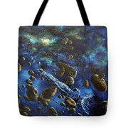 Accidental Asteroid Tote Bag