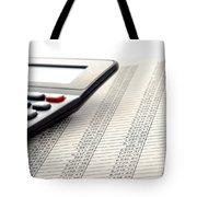 Accounting Tote Bag