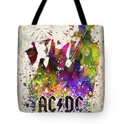 Acdc In Color Tote Bag