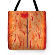 Ace Of Wands Tote Bag