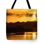 Acela Sunset Tote Bag