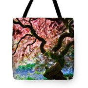 Acer Abstract Tote Bag