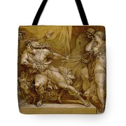 Achilles And Briseis Tote Bag