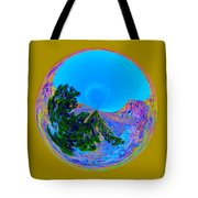 Acid Desert Orb Tote Bag