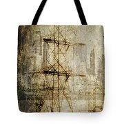 Acid Rain Tote Bag by Chris Armytage