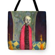 Acolyte With Fire Pots Tote Bag