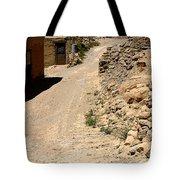 Acoma Pueblo Street Scene Tote Bag