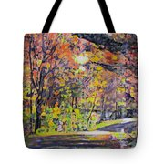 Acorn Lake Series 001 Tote Bag
