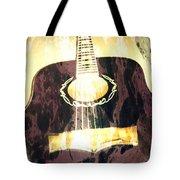 Acoustic Guitar - In The Studio Tote Bag