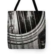 Acoustically Speaking Tote Bag