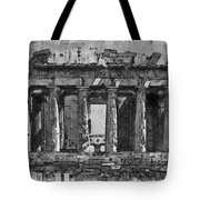 Acropolis Tote Bag by George Rossidis