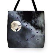 Across A Harvest Moon Tote Bag