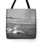 Across The Bay Bw Tote Bag