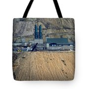 Across The Berkeley Pit Viewing  Tote Bag