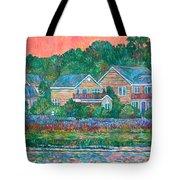 Across The Marsh At Pawleys Island       Tote Bag by Kendall Kessler
