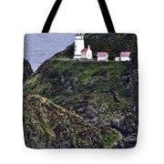 Across The Ocean Blue Tote Bag