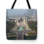 Across The Seine Tote Bag