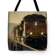 Across The Summit  Tote Bag