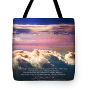 Across The Universe Tote Bag