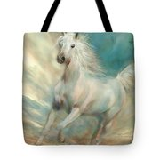 Across The Windswept Sky Tote Bag