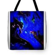 Acrylic Cosmic Glow Tote Bag