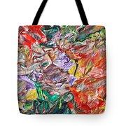 Acrylic  Madness Tote Bag