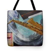 Acrylic Msc 036  Tote Bag