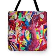 Acrylic Msc 042 Tote Bag